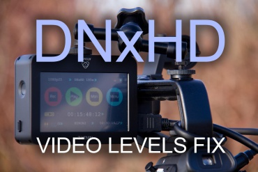 WORKAROUND: How to repair DNxHD codec Video-Levels on Windows