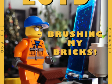 LOTD – Brushing My Bricks!