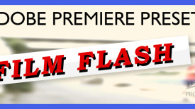 Film Flash – Premiere Pro Effects preset