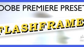 Flashframe – Adobe Premiere Pro Effects preset