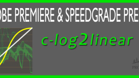 c-log2linear Adobe Premiere Pro Preset