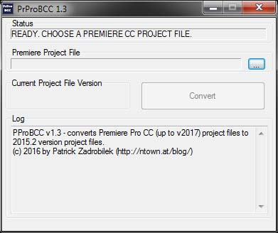 GUI version of PrProBCC
