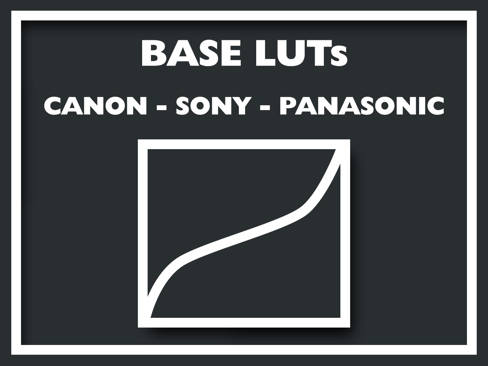 List of most popular Canon, Sony, Panasonic FREE camera Base LUTs