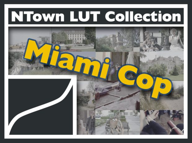 NTown Grading LUT Collection - Miami Cop TV Look