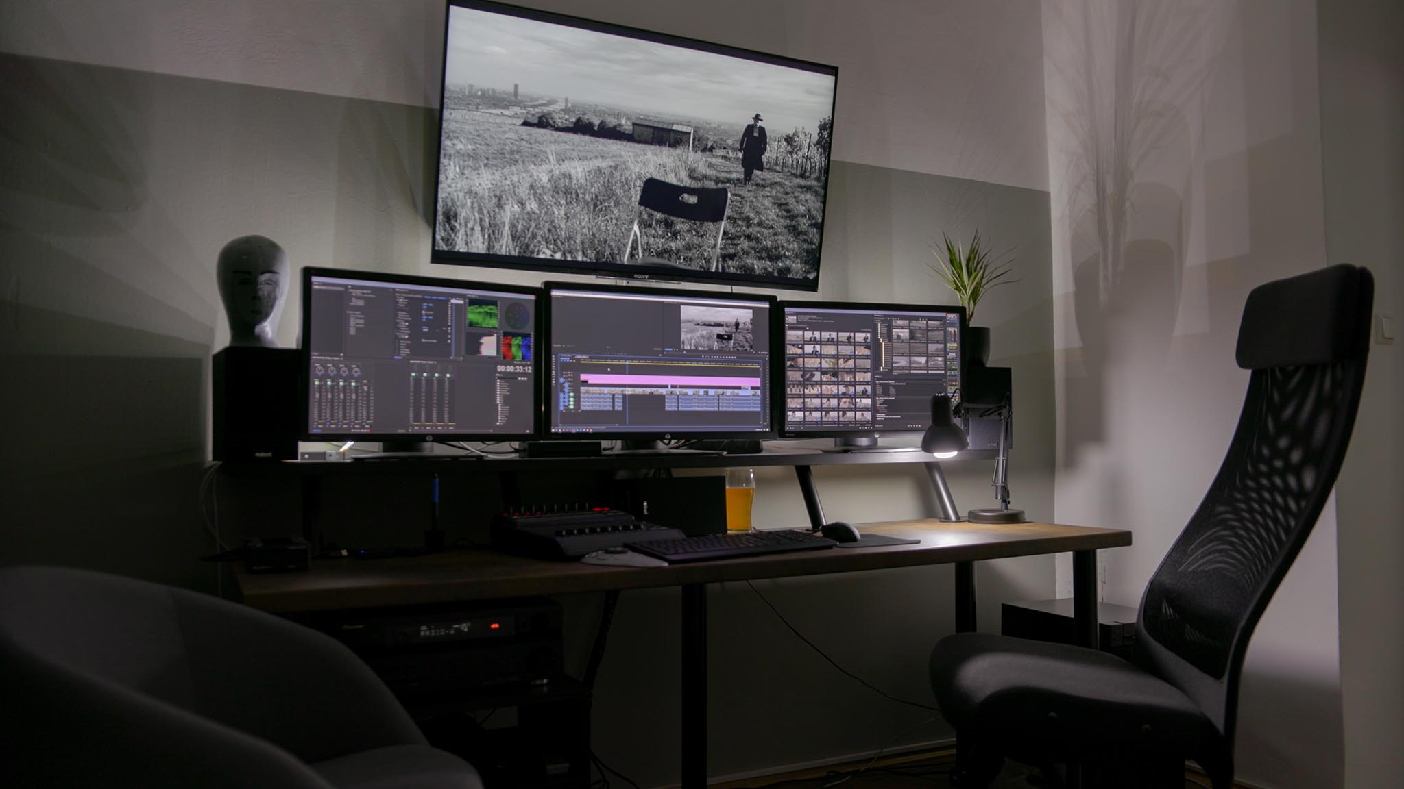 NTown Productions 4K Editing Suite Vienna Austria