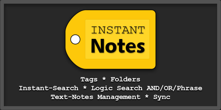 plaintext note management