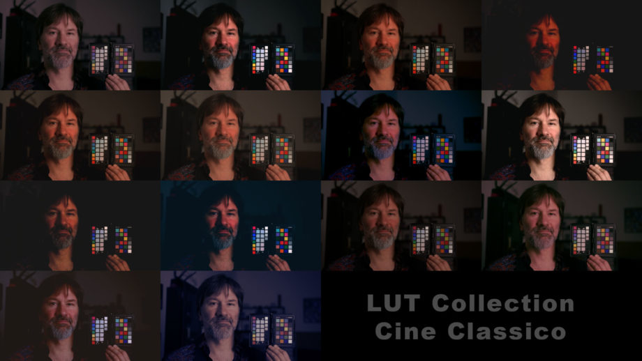 NTown LUT Collection Cine Classico