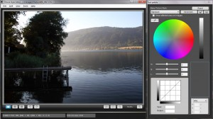 Canon Picture Style Editor Main Interface with RAW image loaded