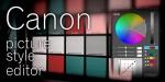 TUTORIAL: Canon Picture Style Editor