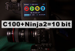 Canon C100 + Atomos Ninja2 10-bit Workflow