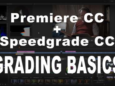 PremierePro CC – Speedgrade CC grading roundtrip via DIRECTLINK