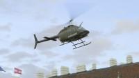 Bell Kiowa Heldenplatz landing 001