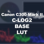 Canon C300 Mark II Base Correction C-Log2 LUT Download
