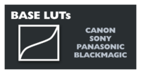 List of most popular Canon, Sony, Panasonic camera Base LUTs