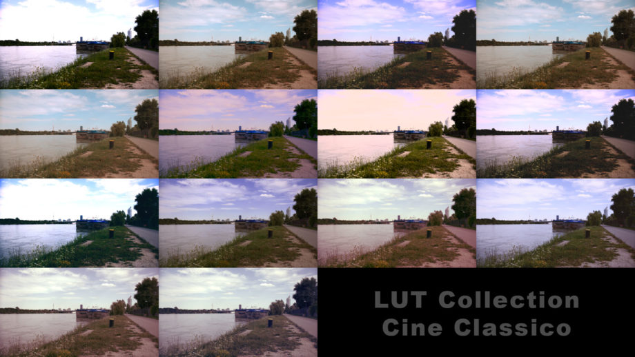 LUT Collection Cine EXT