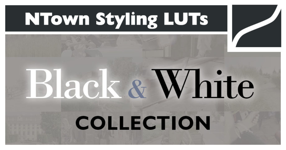 NTown Styling LUTs Black and White Collection