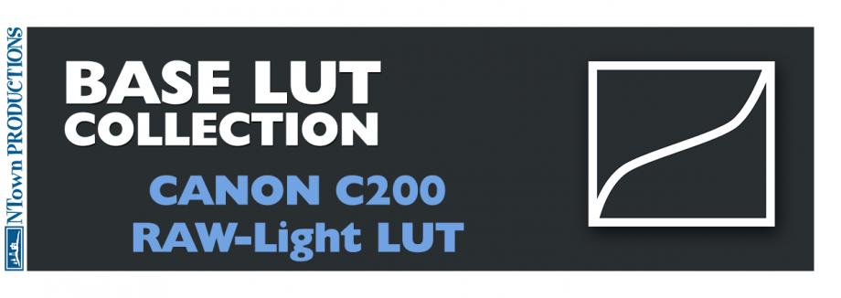 Canon C200 RAW-Light BASE LUT