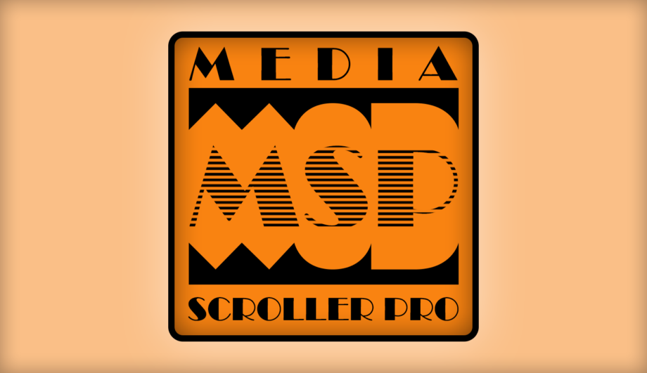 MediaScrollerPro Teleprompter Autocue Software Application