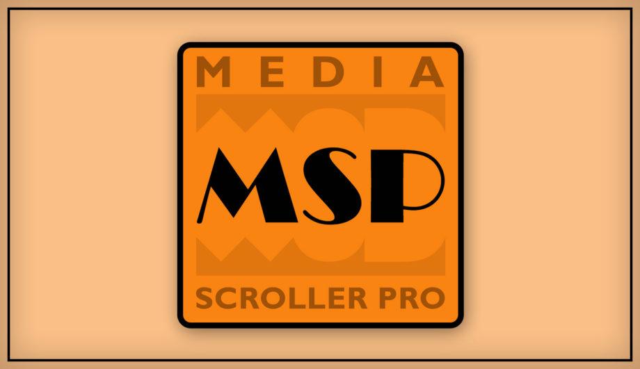 MediaScrollerPro Teleprompter Autocue Software Application Windows